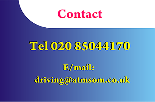 driving instructor contact.